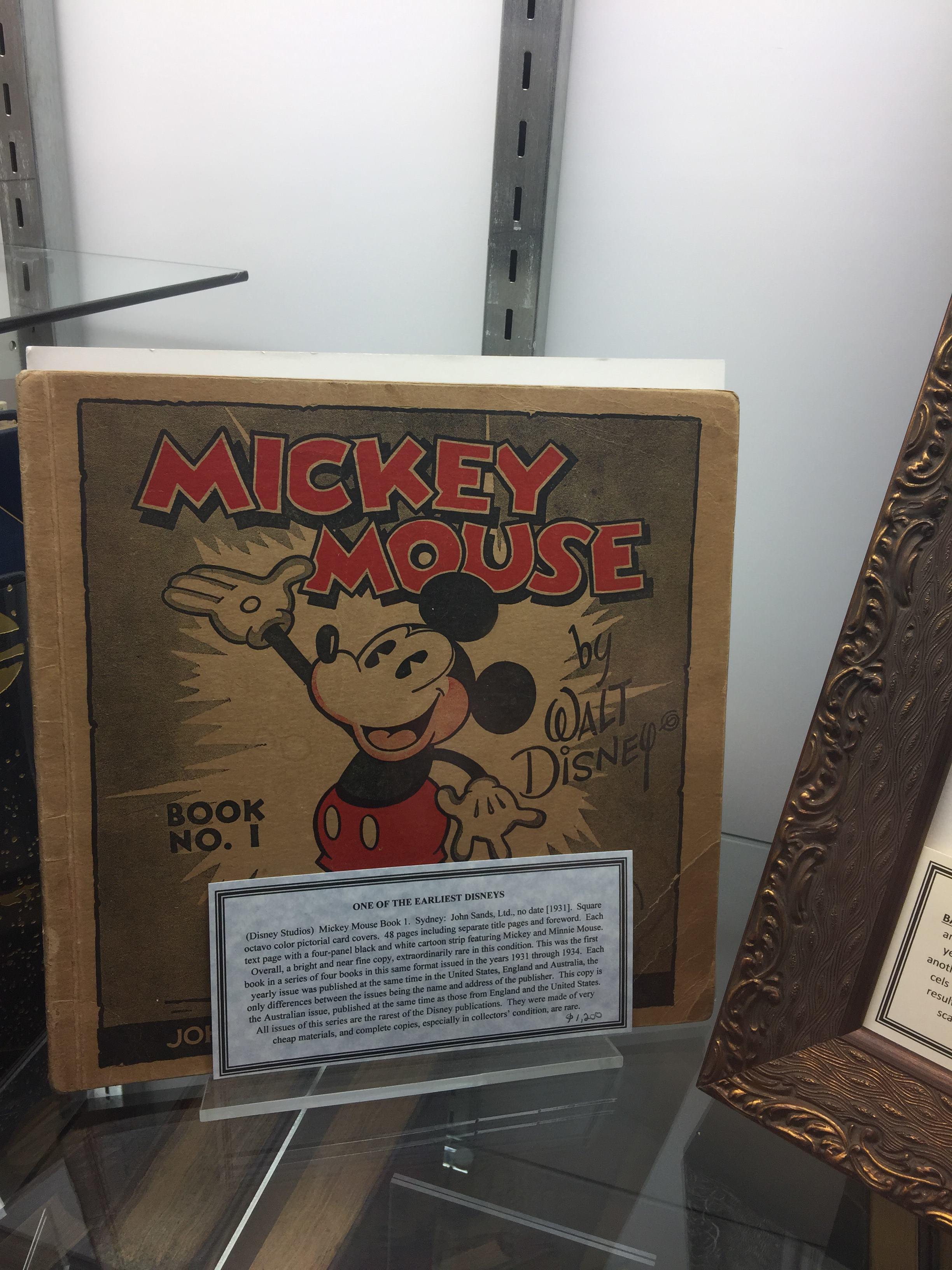 A rare Disney publication